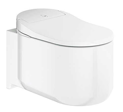 GROHE Arena 39354Sh0 Sensia Shower Toilet Seat Cover With Bi