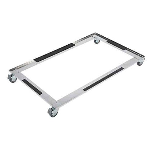 ProSelect Stainless Steel Modular Kennel Base with Wheel, Small