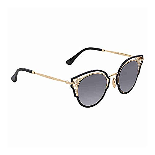 Jimmy Choo Women's Dhelia/S Black Gold/Brown Gradient Mirror One ()