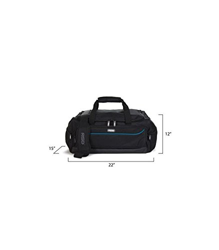 Portable Shelving Luggage, Rise Gear Weekender, Gray