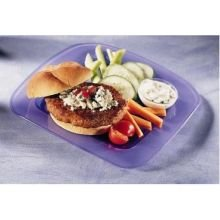 Butterball All Natural Round Seasoned Turkey Burger Patty, 6 Ounce -- 40 per - Burgers Turkey