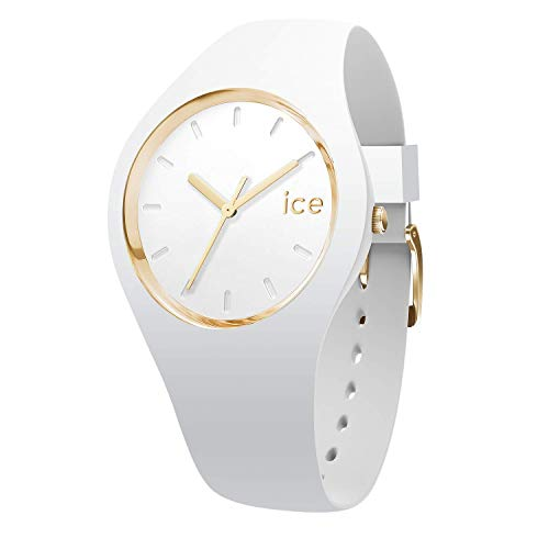 Ice-Watch – ICE glam White – Women's wristwatch with silicon strap