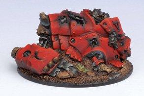 Privateer Press - Warmachine - Khador: Heavy Warjack Wreck Marker Model Kit 3