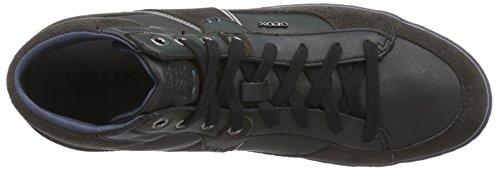 Geox U Box  - Zapatillas de deporte para hombre Mud/Black