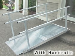 Classic Series Pathway Ramp II Size: 6'W by EZ-Access