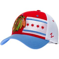 d75f6b27e60b08 ... new zealand zephyr chicago blackhawks flag adjustable hat m l 24755  c5ffb