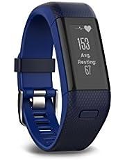 Garmin vívosmart HR+ - Monitor de Actividad de Ajuste Regular, Color Azul Medianoche