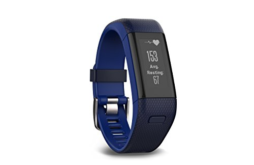 Garmin vívosmart HR+ Regular Fit Activity Tracker - Midnight Blue/Force Blue