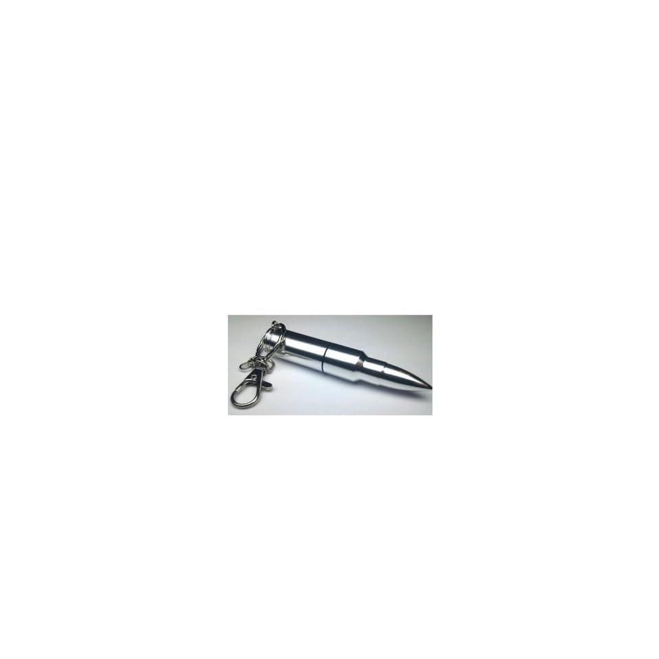 New 3d 8gb Bullet Flash Drive Usb Flash Pen Drive Memory F Silver