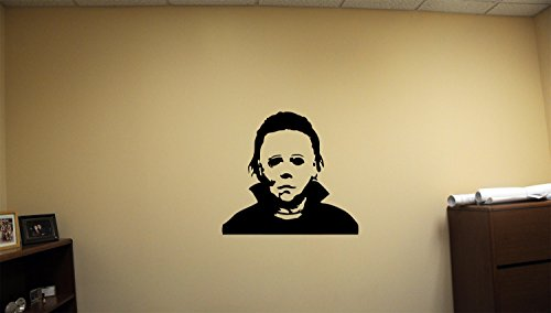 (Advanced store Michael Myers Dead Horror Vinyl Wall Decals Halloween Decor Stickers Vinyl Mural)