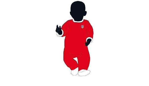 Desconocido Pelele bebé Atlético de Madrid - 3Meses: Amazon.es: Deportes y aire libre