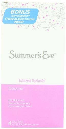 - Summer's Eve Douche | Island Splash | 4.5 oz Size | Pack of 6 | pH Balanced, Dermatologist & Gynecologist Tested