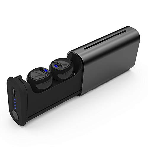 Wireless Earbuds, SAN.COMO T6 Latest Bluetooth 5.0 True Wireless Bluetooth Earbuds 15H Playtime 3D Stereo Sound Wireless Headphones, Built-in Microphone