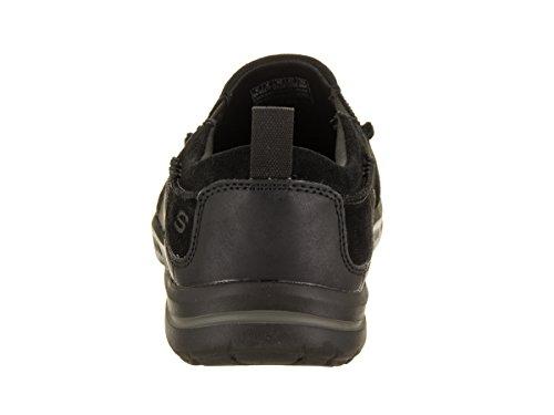 Skechers Van Het Man Verkozen - Mauro Toevallige Schoen Zwart