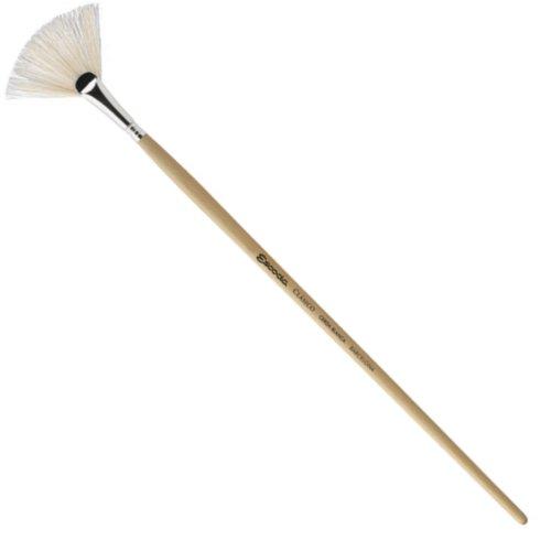 Escoda Clasico 5337 Oil & Acrylic Chungking White Bristle Paint Brush Fan; Size 6 by Escoda (Image #2)