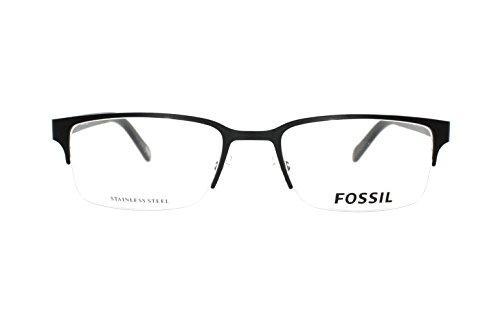 20183232920 FOSSIL 6024 Eyeglasses 010G Matte Black 53-19-140  Amazon.co.uk  Clothing
