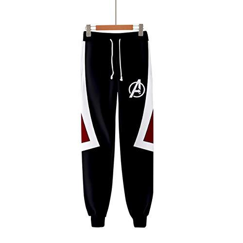 (Avengers Endgame Advanced Tech Quantum Adult Pants Trousers Cosplay Costume B)