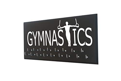 Running On The Wall Gifts for Gymnasts - Gymnastics Medal Display Rack for Men - Medal Holder for Athletes - Gymnastics