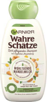 Amazon.com: Garnier - Champú para leche de almendra ...