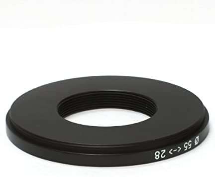 KAMERA RING STEP DOWN FILTER ADAPTER 55mm auf 28mm