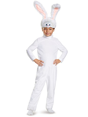 Snowball Classic The Secret Life of Pets Universal Costume, X-Small/3T-4T -