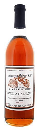 Sonoma Syrup Co. Vanilla Hazelnut Syrup - 750 mL