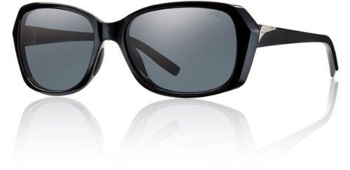 Glass Facet (Smith Optics Facet Sunglasses, Black Frame, Polar Gray Carbonic TLT Lenses)