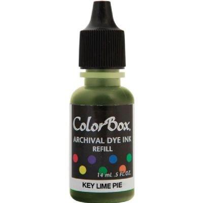 Clearsnap ColorBox Archival Dye Ink Re-inker Refill Bottle: Key Lime Pie ()