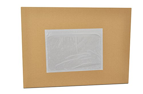 7.5'' x 5.5'' Packing List Top Loading Plain Face Envelopes Pouches ( 6000 pcs ) by PackagingSuppliesByMail