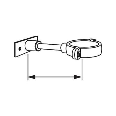 """American Standard 6065.822 2-1/2"""" Split Pipe Support for Flush Valves,"""