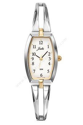 Reloj mujer bicolor plateado y dorada JOALIA 634617: Amazon ...