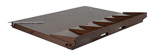 Vestil SCR-84 Heavy Duty Steel Container Ramp, 98