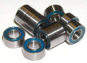 10 Kit Bearing 3x6 Sealed 3x6x2.5 Ball Bearings Pack