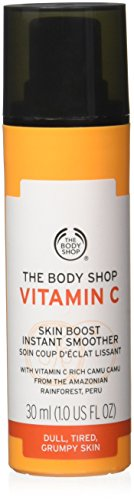 The Body Shop Vitamin C Skin Boost Instant Smoother, 1 Fl Oz (Vitamins Normal Skin)