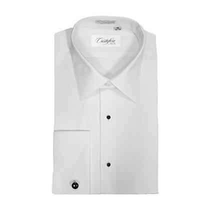 Cardi Mens Tuxedo Shirt Non-Pleated 100/% Cotton