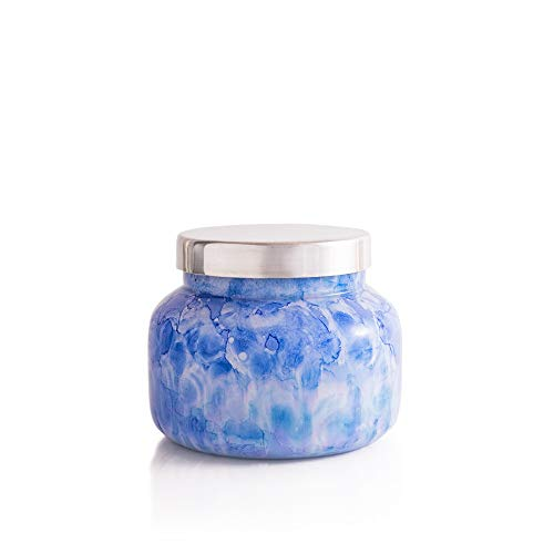 Capri Blue Watercolor Candle - 19 Oz - Blue Jean