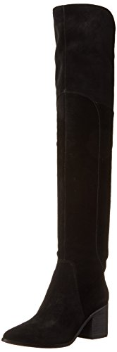 ALDO Women's Merendi Slouch Boot, Black Leather, 6 B US by ALDO