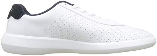 Homme Lacoste Blanc wht nvy 36spm0004 Chaussures Sport 042 HqqEg