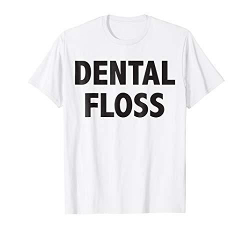Dental Floss Dentist Halloween Shirt Family Group -