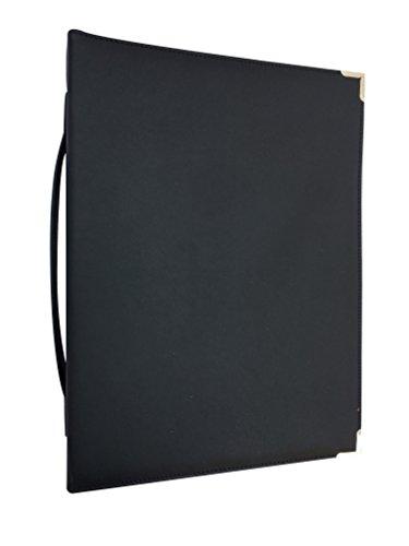 MSP Sheet Music Concert Choral Folder 10'' x 13.5'' with Hand Strap and 3 Ring Binder LARGE (Black) by MSP Portfolio (Image #3)