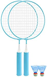 BESPORTBLE 1 Set Colored Badminton Racket Beginner Training Outdoor Sports Leisure Toys Badminton Set for Kids