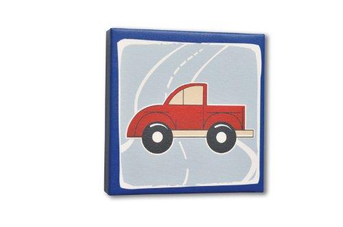 Homeworks-Etc-Truck-Canvas-Wall-Art-BlueRedWhite