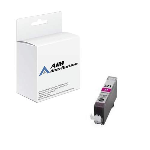 AIM Compatible Replacement for Innovera IVRCNCLI221M Magenta Inkjet - Compatible to Canon CLI-221M - Generic