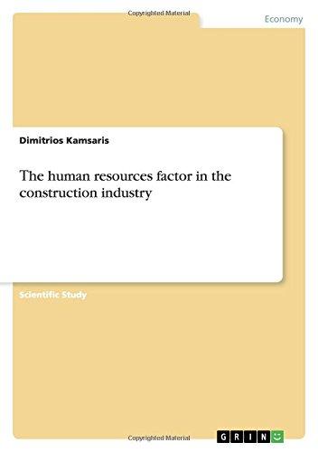 Τhe human resources factor in the construction industry