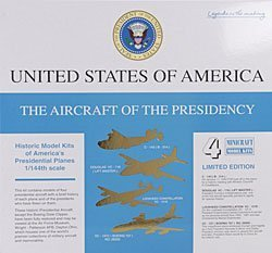 Minicraft 1:144 - Aircraft of the Presidency Set - MCR14486 by Minicraft Model Kits