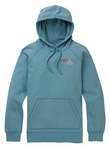 - Burton Women's Rarest Pullover Hoodie, Stone Blue, X-Small