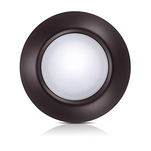 Bronze Dimmable LED Disk Light, SOLLA 7.5