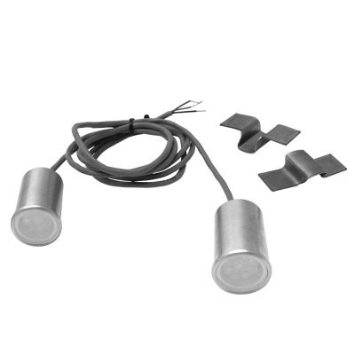 Keep It Clean 12615 Taillight and Turn Signal Kit, White,...