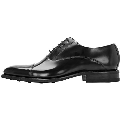 Hommes Chaussures Loake Black Legend Noir Cuir 260b Polished PqRdYp