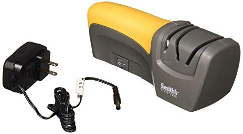 Smith's 50005 Edge Pro Compact Electric Knife Sharpener (Smiths Diamond Edge Elite Electric Knife Sharpener)